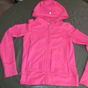Lululemon Ivivva Bubblegum Pink Jacket Size 12